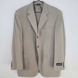 Retro Taupe Suit and Slacks
